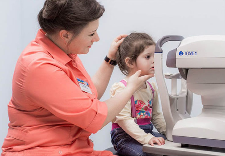 Авторефрактометрия глаза